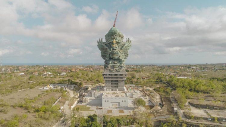 Patung Garuda Wisnu Kencana Diresmikan Presiden Jokowi