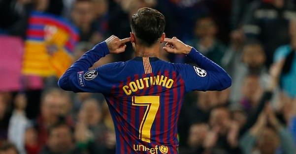 Busquets: Coutinho Melakukan Selebrasi Dengan Amarah
