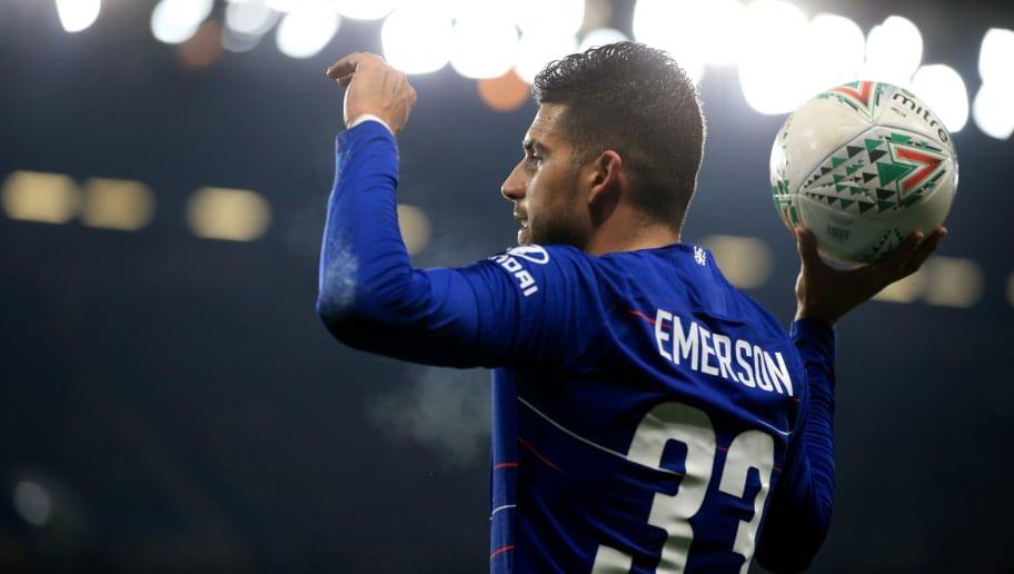 Sering diposisi Cadangan, Emerson Ingin Hengkang Dari Chelsea
