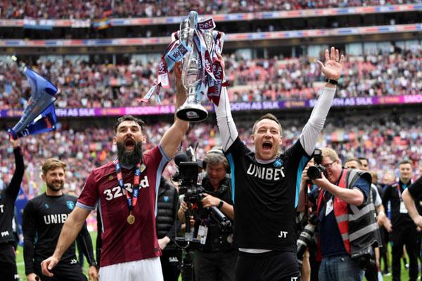 Mengalahkan Derby County, Aston Villa promosi ke Liga Inggris
