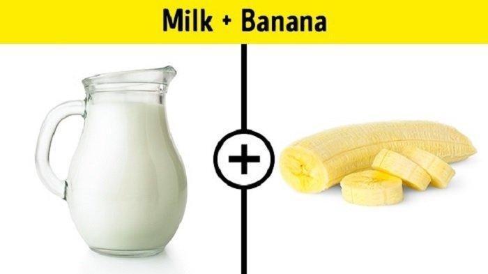 Pisang dan Susu Ternyata Tidak Boleh Dikonsumsi Bersamaan