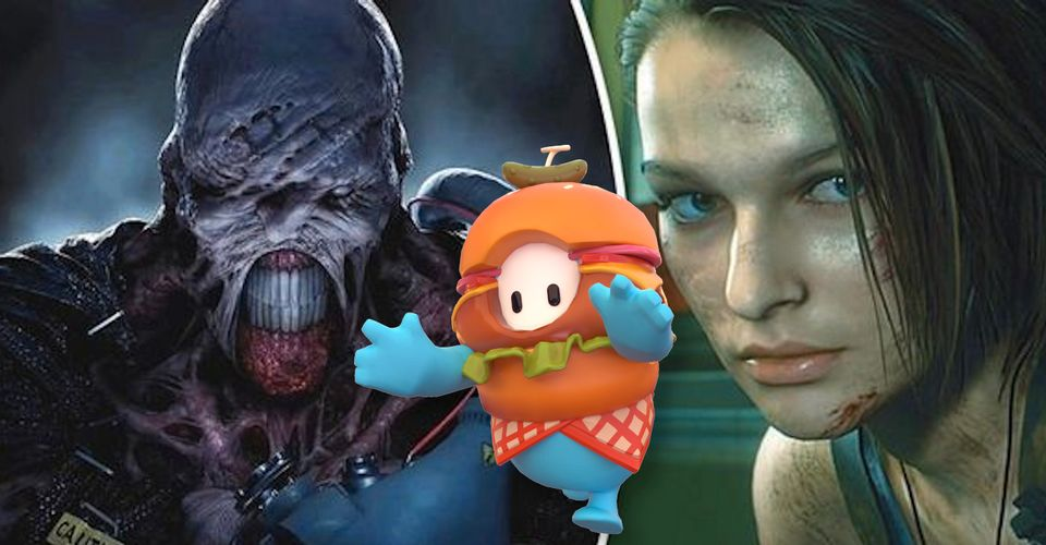 Resident Evil 3 Mod Membuat Kamu Dapat Bermain Sebagai Fall Guys