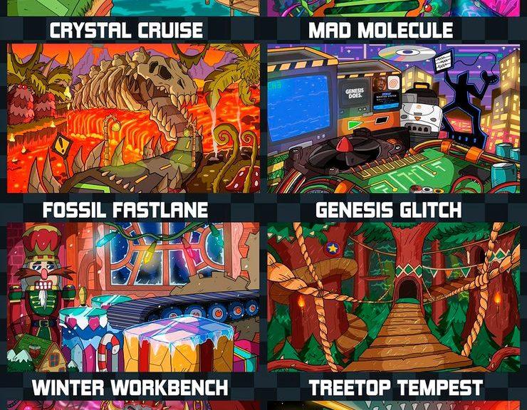 Fan Sonic Memikirkan Idea Kreatif Mengenai Zone Baru