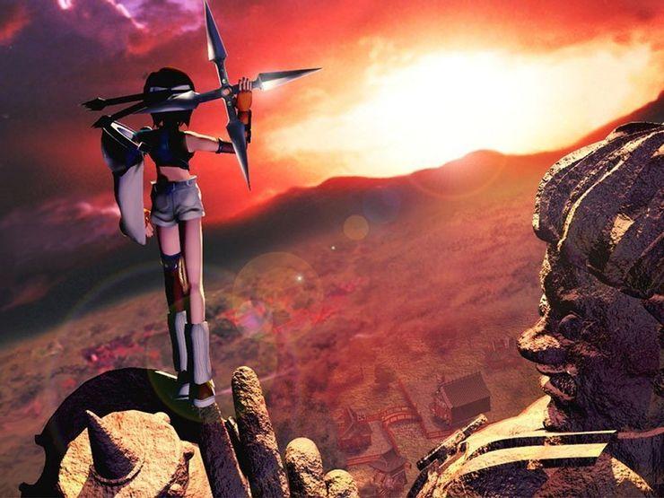 Membangun Cerita Yuffie Di Final Fantasy 7 Remake Intergrade