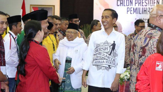 Komisi Pemilihan Umum (KPU) akan melakukan kampanye secara damai dalam pemilu 2019 nanti