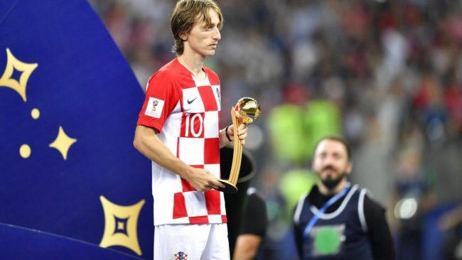 Pemenang penghargaan Ballon d'Or 2018, Luca Modric menjadi salah satu incaran dari Beppe Marotta